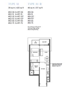 parc-esta-1-bedroom-floor-plan-a1-singapore