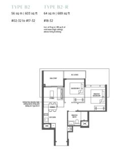 parc-esta-2-bedroom-floor-plan-b2-singapore